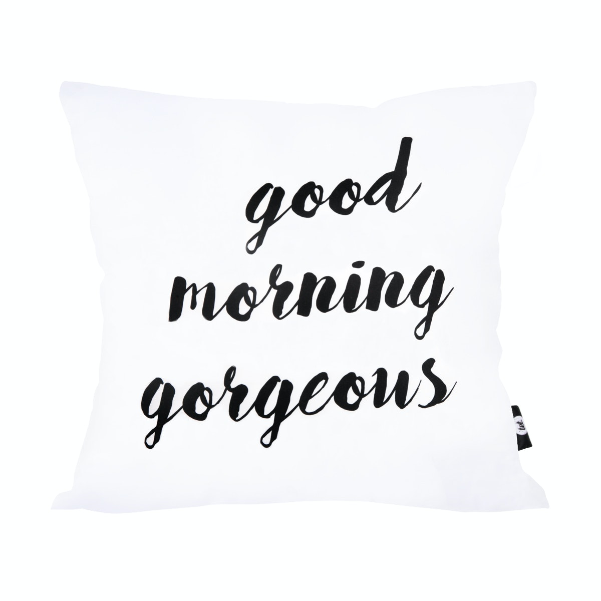 Tetstore Good Morning Gorgeous Cushion 40x40cm (Insert+Cover)