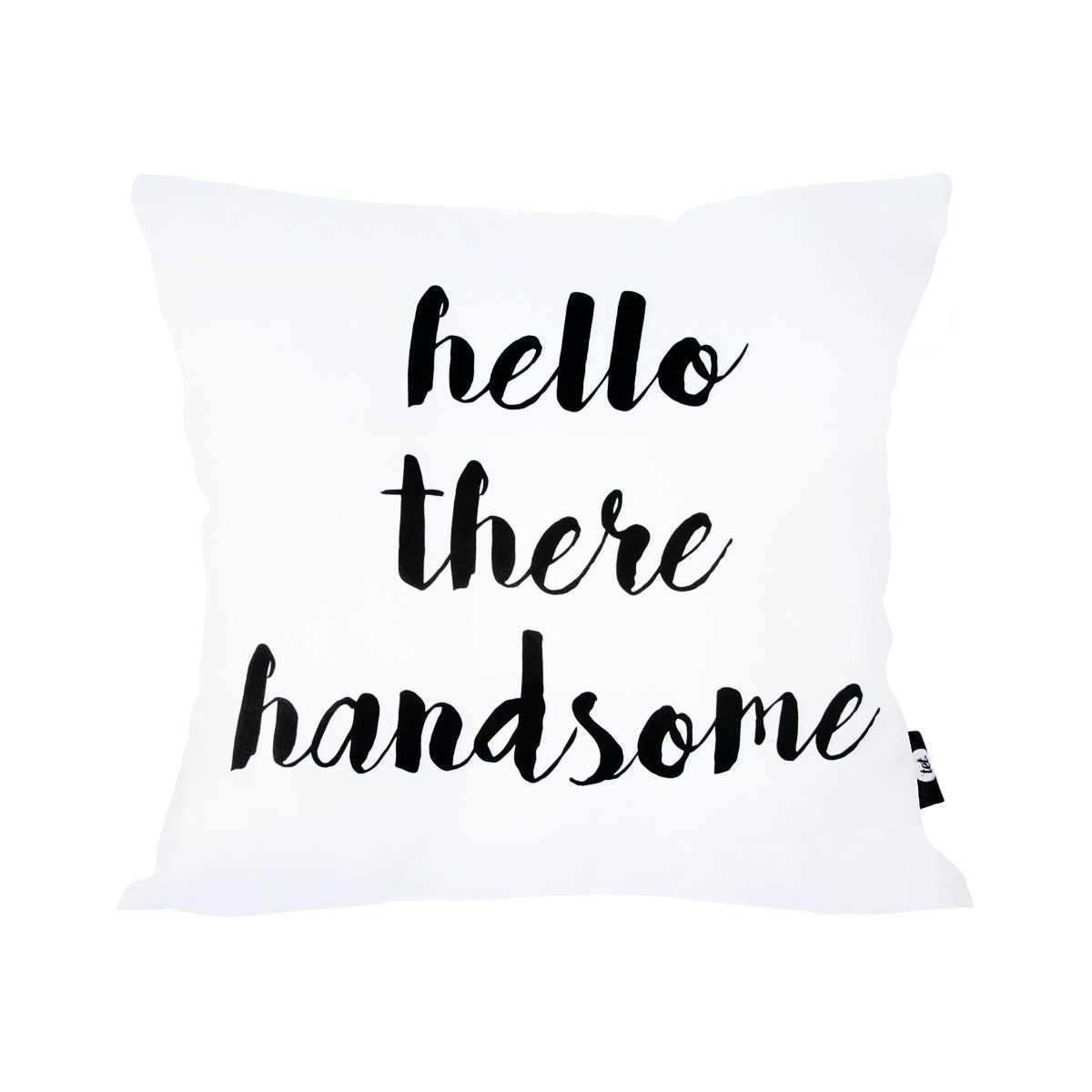 Tetstore Hello There Handsome Cushion 40x40 (Insert+Cover)