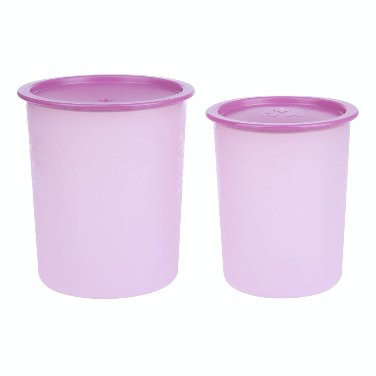 Tupperware Small Mozaic Canister (2pcs)