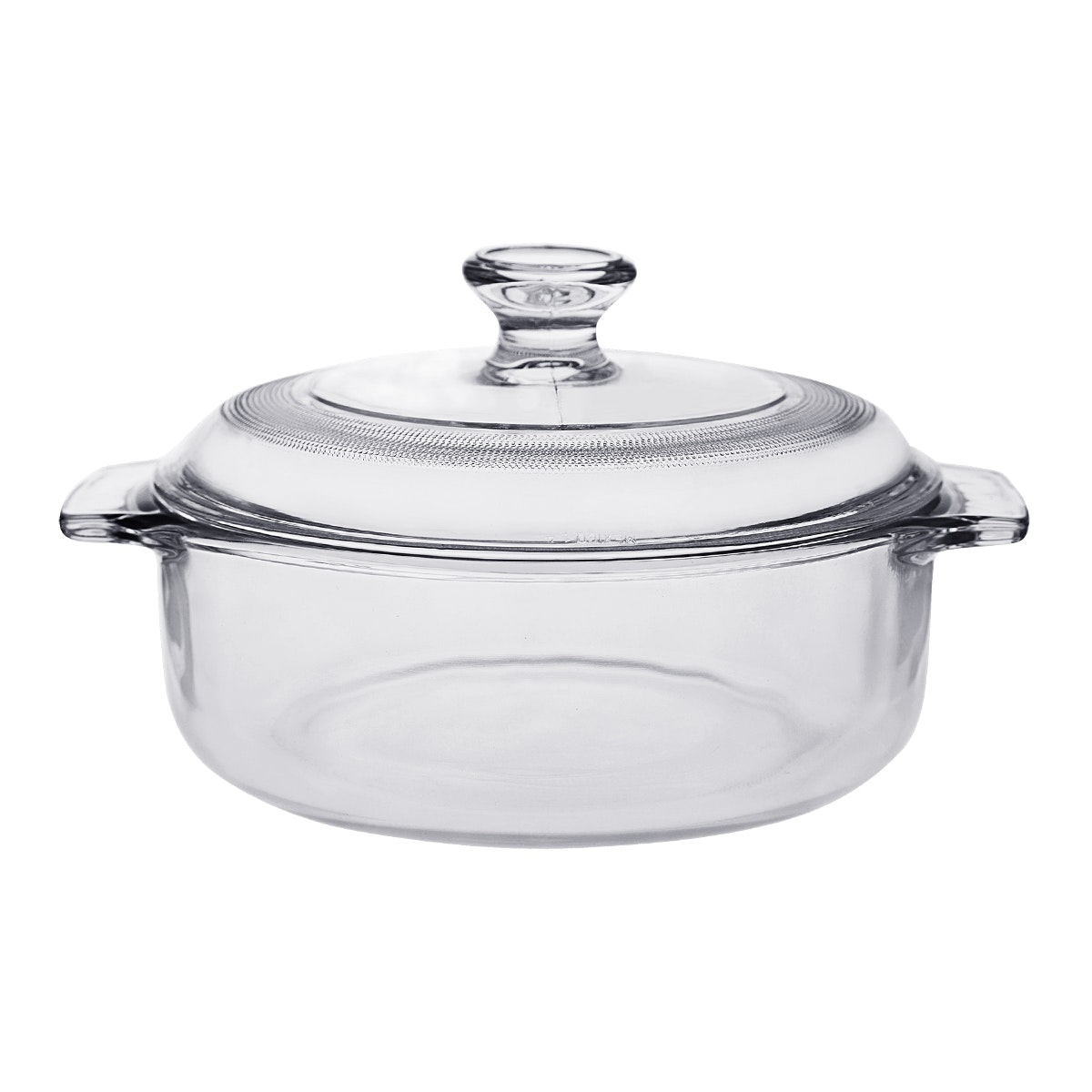 Pyr-O-Rey Small Multi Purpose Casserole W/ Small Glass Lid 1Lt