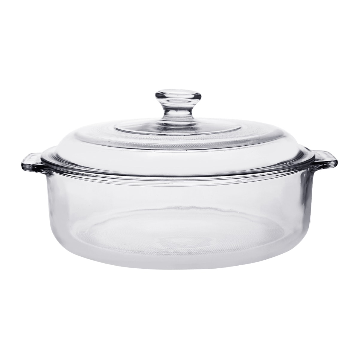 Pyr-O-Rey Large Multi Purpose Casserole W/ Large Glass Lid 3Lt
