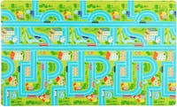 TOPSBRIDGE Karpet Daedong Road Map Boy & Girl 185X140X1.4cm