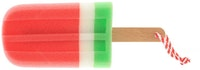 UCHII Bath Sponge Colorful - Ice Cream Pink White Green