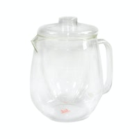 UCHII Exclusive Glass Tea Pitcher w/ Strainer Lid | Teko Saringan Kaca