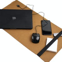 UCHII Felt Desk Mat Keyboard Holder Laptop Pad - Tatakan Komputer Meja