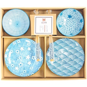 UCHII Exclusive Ceramic Dinnerware Gift Set Box