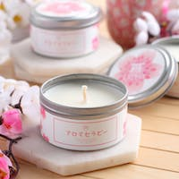 UCHII UCHII Aroma Therapy Decorative Canned Candle Lilin Wangi Pink Blossom