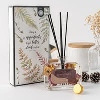 ARAMI Reed Diffuser Aromatherapy w/ Stuff Dry Fruit Inside Pengharum Ruangan - SUNFLOWER