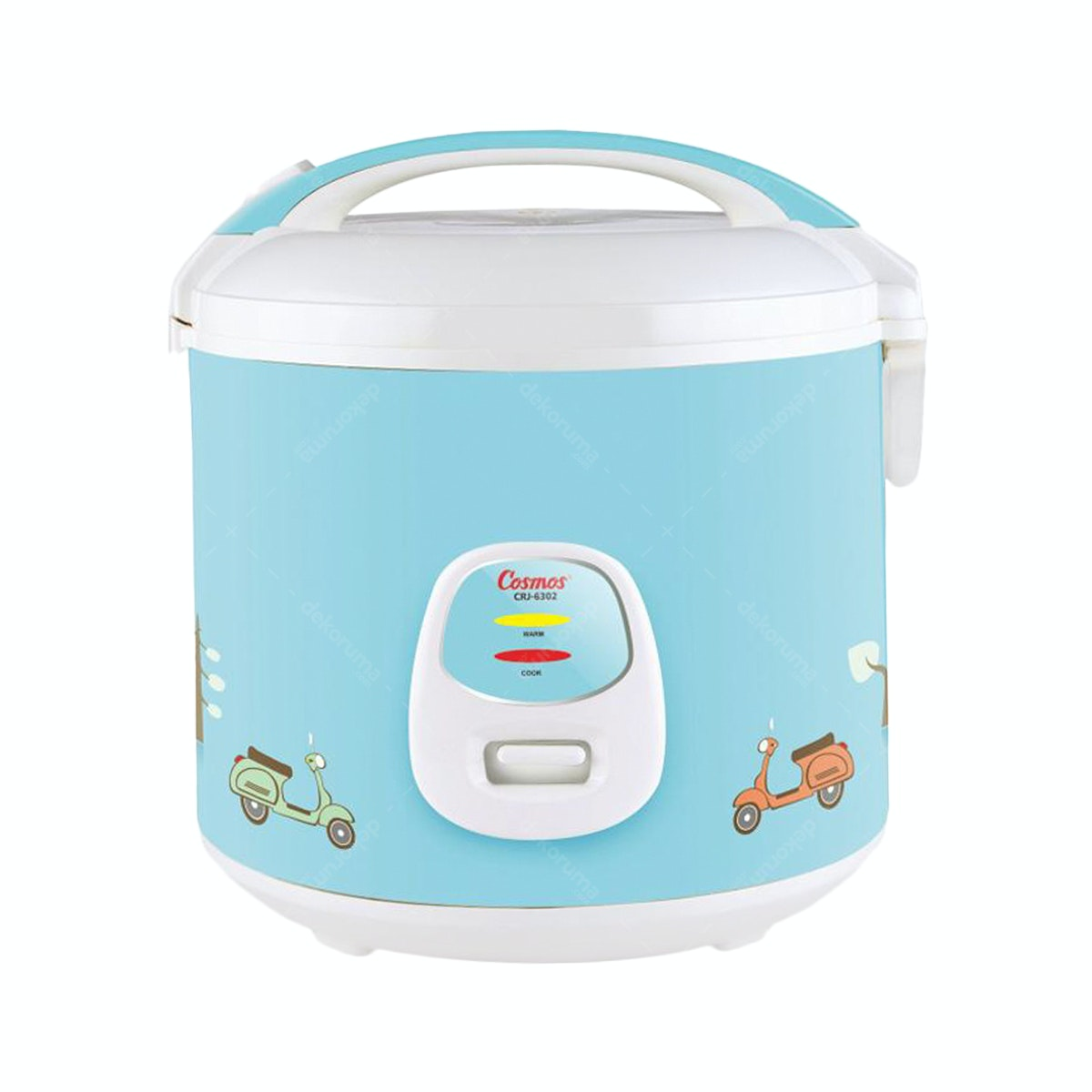 Cosmos Rice Cooker/ Magic Com (Harmond Tech) 1.8L CRJ-6302 Biru