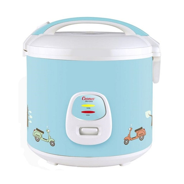 Cosmos Rice Cooker/ Magic Com (Harmond Tech) 1.8L CRJ-6303 Biru