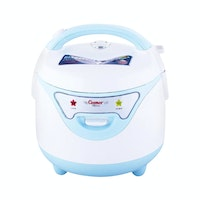 Cosmos Rice Cooker/ Magic Com (Harmond Tech) 0.8L CRJ-6612 Biru