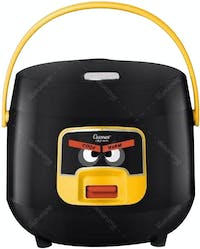 Cosmos Rice Cooker/ Magic Com (Angry Bird) 0.8L CRJ-6601 Hitam