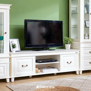 Unihome Meja TV White P-121