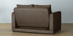 Ananta Fernando Sofa Bed Cokelat Walnut