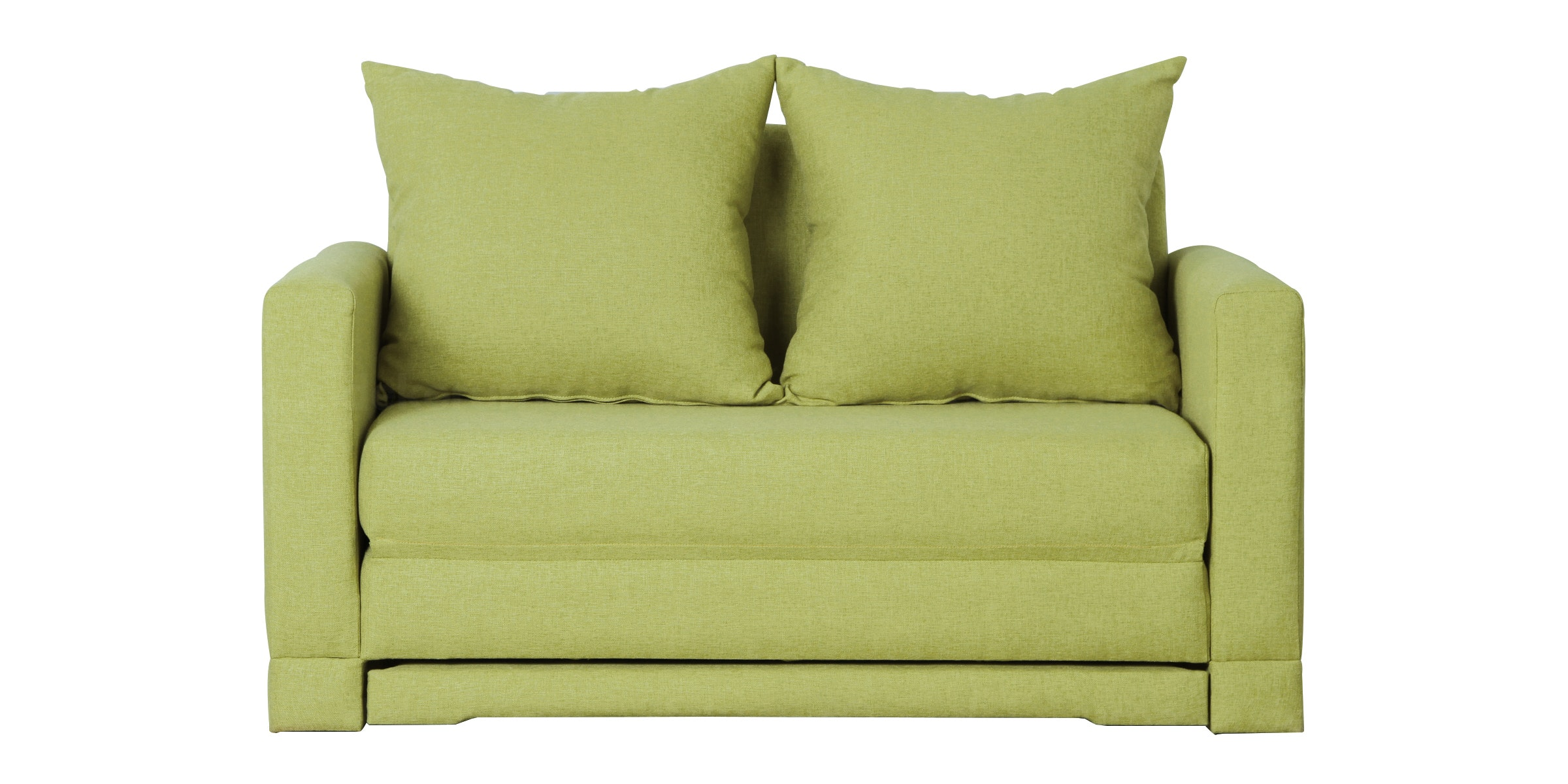 Voda Collection Fernando Sofa Bed Kuning Kiwi