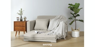 Ananta Fernando Sofa Bed Krem Custard