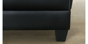 Voda Collection Tama Sofa Bed Hitam