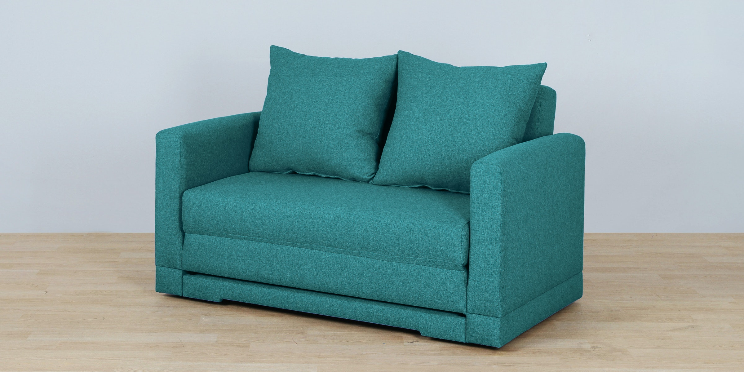 Voda Collection Fernando Sofa Bed Biru Aqua