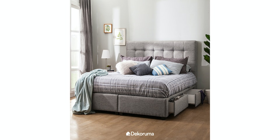 Ananta Olivia Bed Frame King