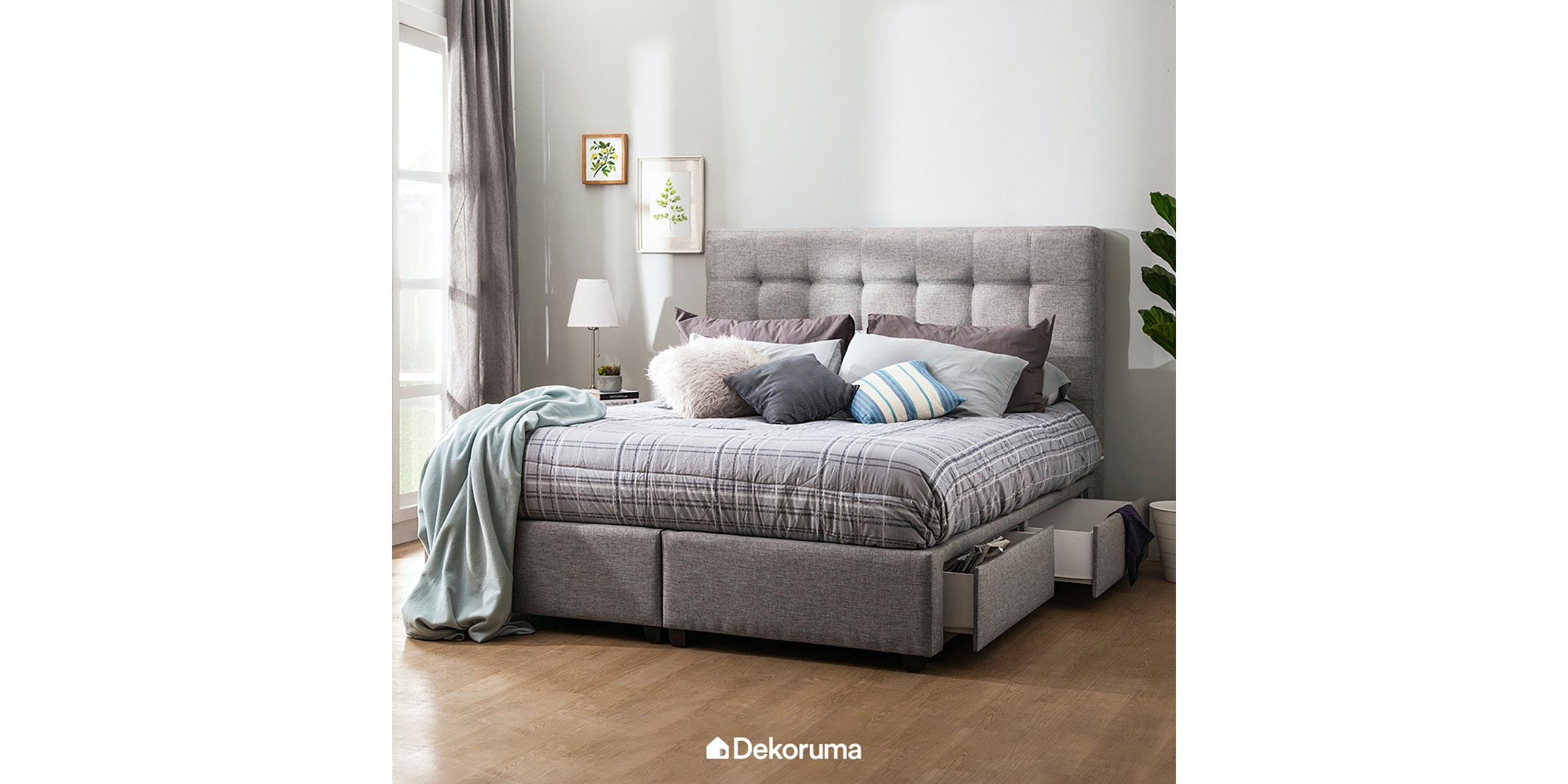 Voda Collection Olivia Bed Frame Extra King