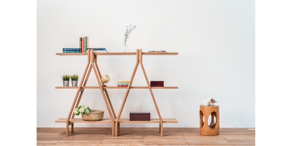 Vidia Home Elegante Book Shelf