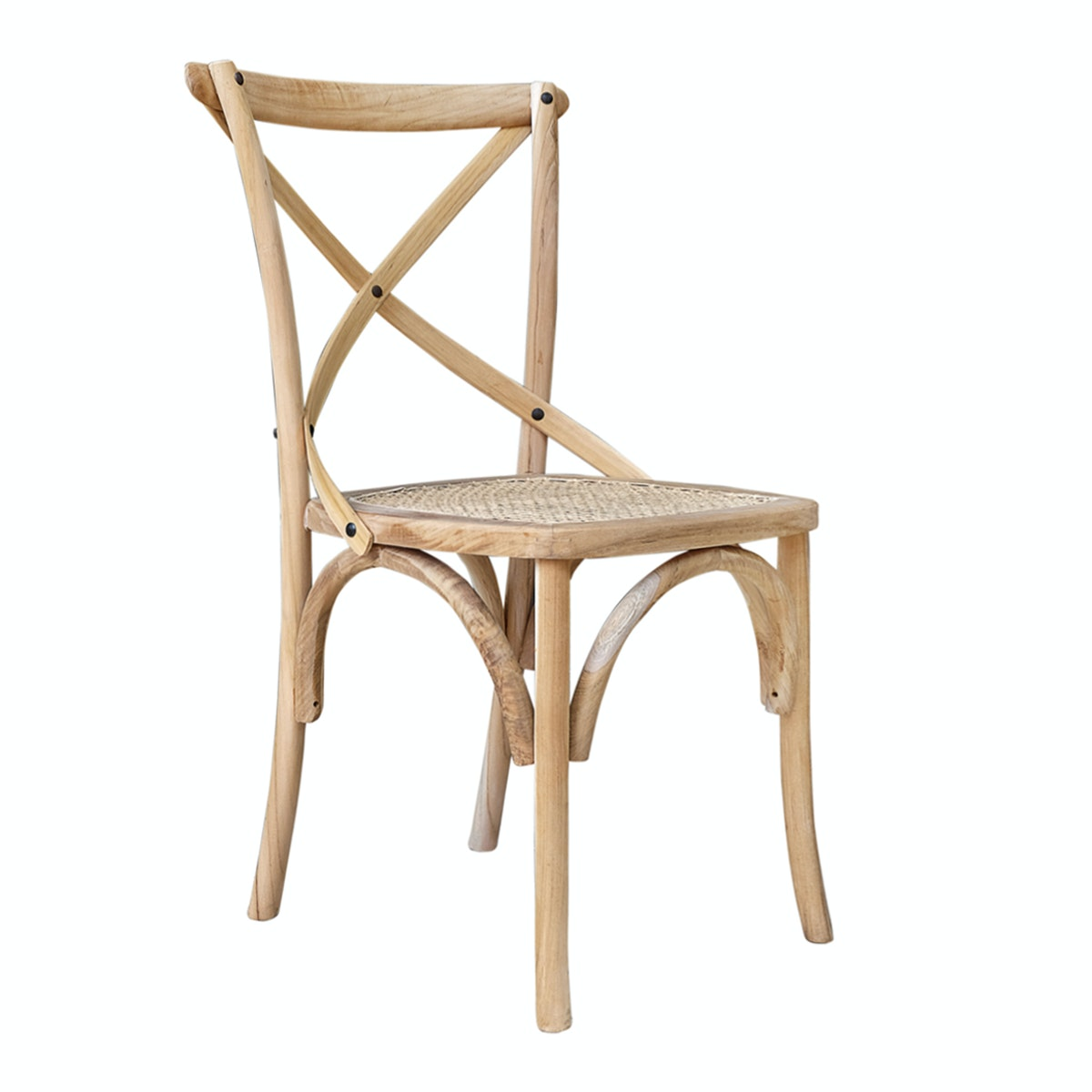 Vie For Living Cross Chair Rattan