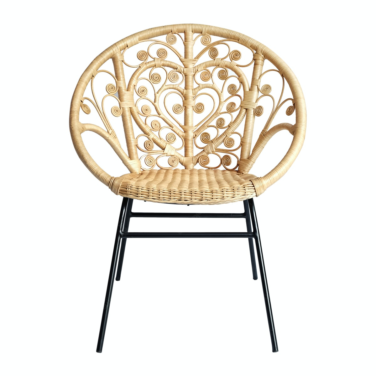 Vie For Living Chair Love With Leg Iron