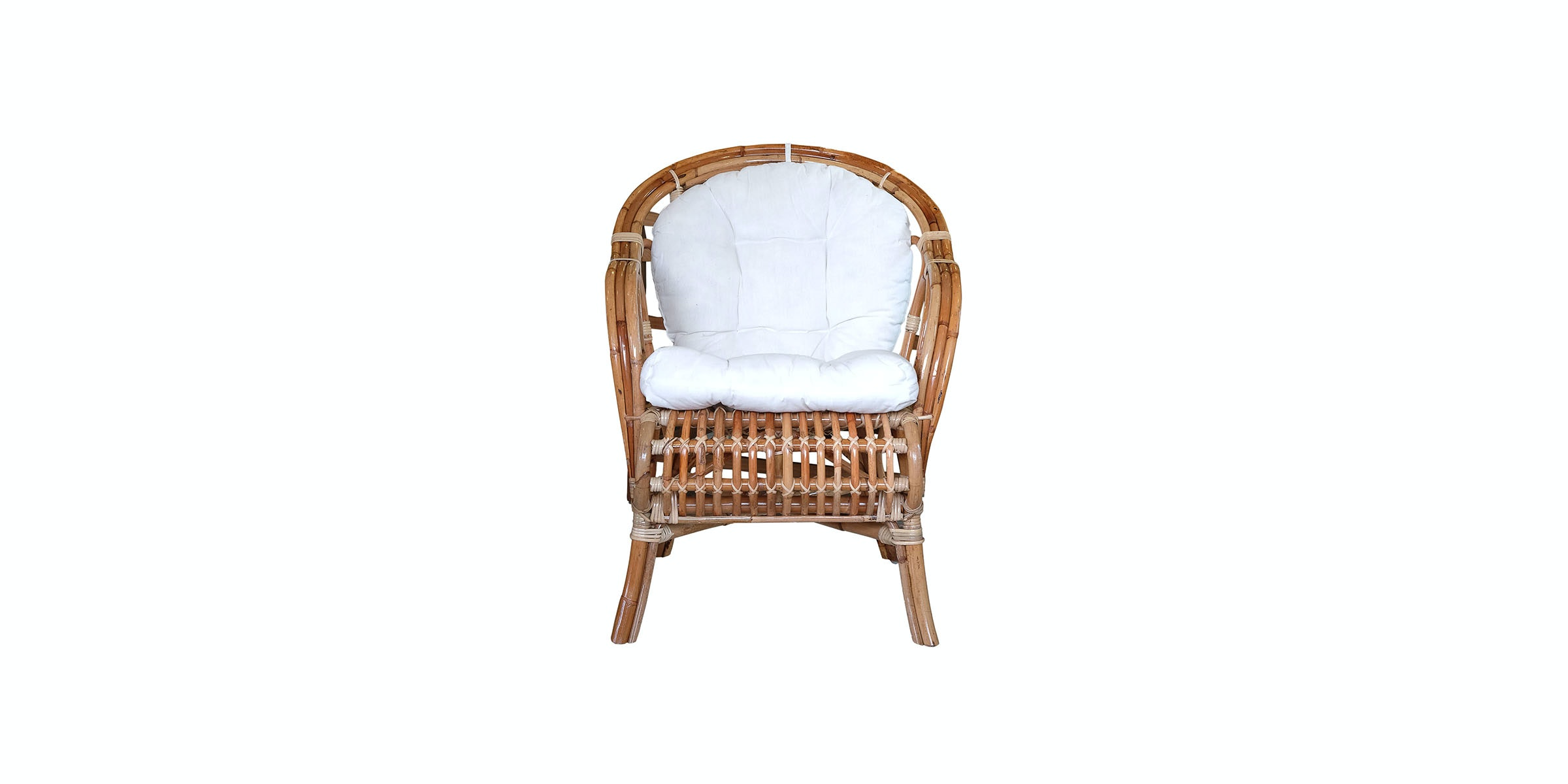 Vie For Living Rattan Chair With Cushion