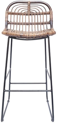 Vie For Living CYNTHIA COUNTER STOOL LEG IRON