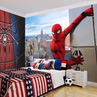 Luxurious Wallpaper Custom 3D - Motif Spiderman 2