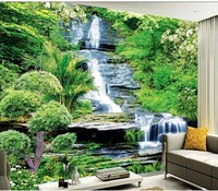 Luxurious Wallpaper Custom 3D - Motif Waterfall 5