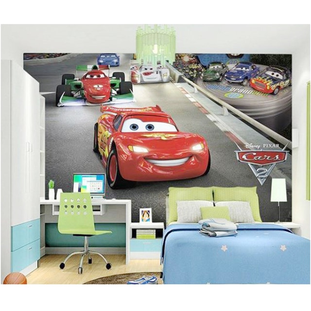 Luxurious Wallpaper Custom 3D - Motif Cars 3