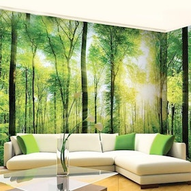 Luxurious Wallpaper Custom 3D - Motif Forest 3