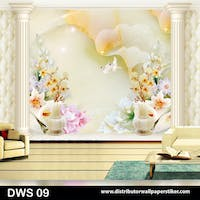 DWS 3D Wallpaper Custom - Motif 3D | DWS 09