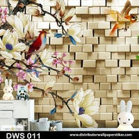 DWS 3D Wallpaper Custom - Motif 3D | DWS 011