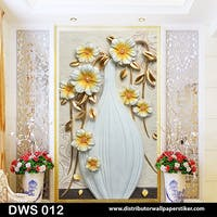 DWS 3D Wallpaper Custom - Motif 3D | DWS 012