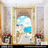 DWS 3D Wallpaper Custom - Motif 3D | DWS 013