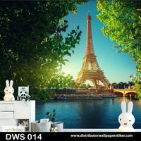 DWS 3D Wallpaper Custom - Motif City | DWS 014