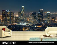 DWS 3D Wallpaper Custom - Motif City | DWS 015