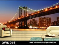 DWS 3D Wallpaper Custom - Motif City | DWS 016