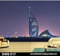DWS 3D Wallpaper Custom - Motif City | DWS 017