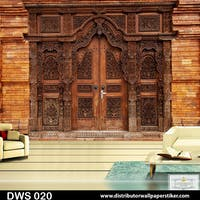 DWS 3D Wallpaper Custom - Motif 3D | DWS 020