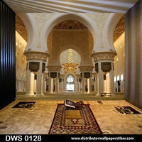 DWS 3D Wallpaper Custom - Motif Islami | DWS 0128