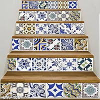Luxurious 3D Stairway Wallpaper Custom - Tangga set | STR - 106