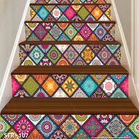 Luxurious 3D Stairway Wallpaper Custom - Tangga set | STR - 107