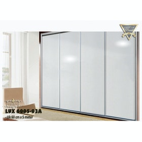 Luxurious LUX 6005-02A LUXURIOUS WALLPAPER STICKER - White Glossy