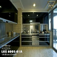 Luxurious LUX 6005-01A LUXURIOUS WALLPAPER STICKER - Black Glossy