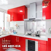 Luxurious LUX 6005-03A LUXURIOUS WALLPAPER STICKER - Red Glossy