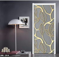 Luxurious Door Sticker | DS - 014 Motif 3D