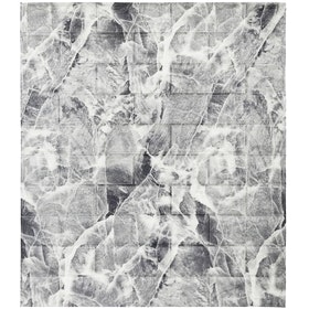 Luxurious Wallpaper Foam Brick - Grey Marble